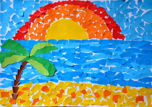 applications-of-colored-paper-templates-15-1 Аппликации из цветной бумаги шаблоны распечатать для детей 2-3, 4-5, 6-7 лет. Фото. тема осень, зима, весна