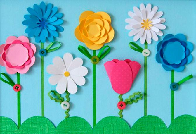 applications-of-colored-paper-templates-5 Аппликации из цветной бумаги шаблоны распечатать для детей 2-3, 4-5, 6-7 лет. Фото. тема осень, зима, весна