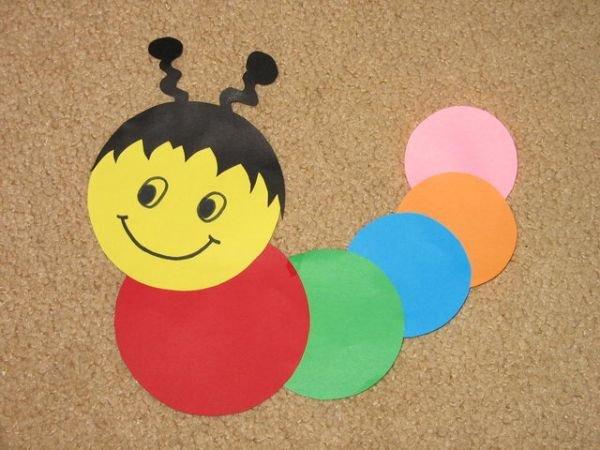 applications-of-colored-paper-templates-6 Аппликации из цветной бумаги шаблоны распечатать для детей 2-3, 4-5, 6-7 лет. Фото. тема осень, зима, весна