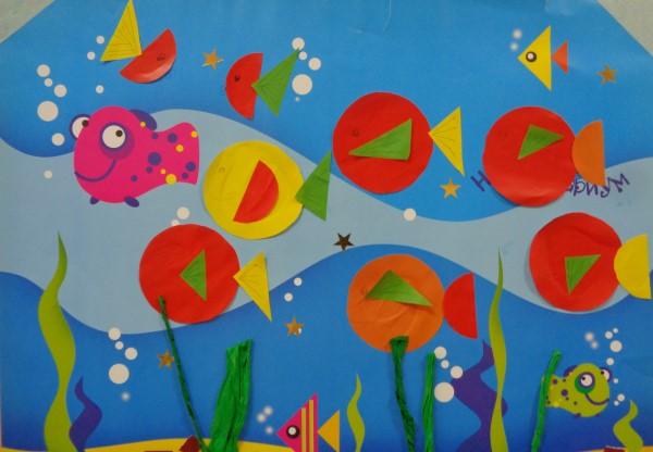 applications-of-colored-paper-templates-8 Аппликации из цветной бумаги шаблоны распечатать для детей 2-3, 4-5, 6-7 лет. Фото. тема осень, зима, весна