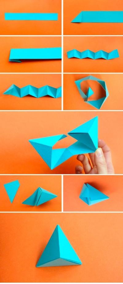 Как сделать пирамиду из бумаги. Схема с размерами, пошаговая инструкция с фото