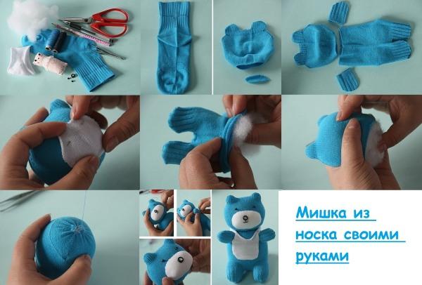 myagkaya-igrushka-medvedya-svoimi-rukami-6 Шьем медведей своими руками. Выкройки