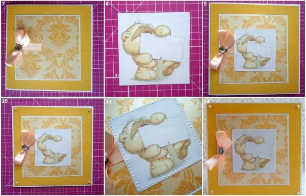 Как сделать открытку в технике скрапбукинг своими руками. Пошаговая инструкция с фото