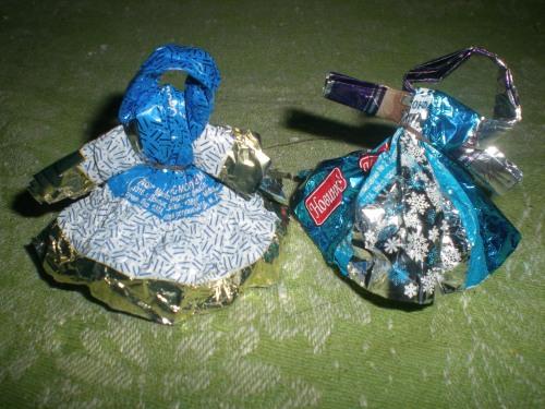 Поделки из фантиков от конфет своими руками для детей 4-5 лет фото 499
