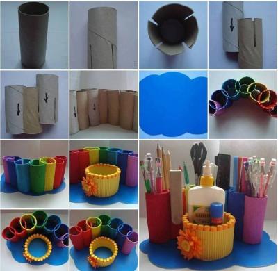 Поделки из втулок от туалетной бумаги своими руками. Мастер классы для детей и начинающих взрослых