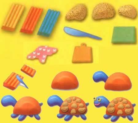 Как слепить из пластилина животных для детей: домашние, дикие, морские. Пошаговая инструкция с фото для начинающих