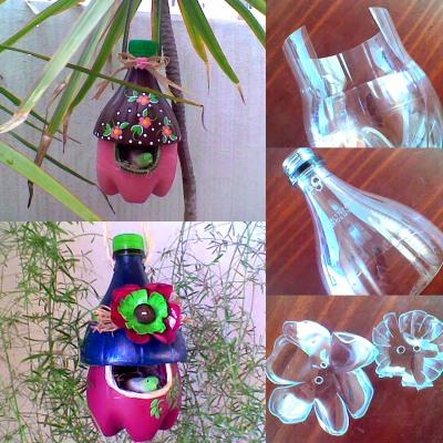 Кормушка для птиц из пластиковой бутылки своими руками. Мастер класс с фото пошагово, в детский сад или на участок