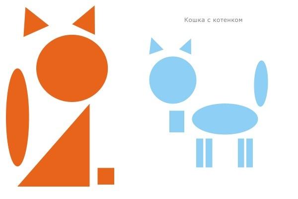 Геометрические фигуры объемные и плоские. Занятие для детей