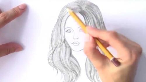 kak-narisovat-devushku-karandashom-8 Рисунки карандашом для личного дневника для срисовки для девушек, девочек и мальчиков: описание и лучшая подборка фото. Как нарисовать разные рисунки для личного дневника карандашами поэтапно?
