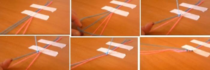 Как плести фенечки из мулине: схемы и инструкции для начинающих. Видео уроки