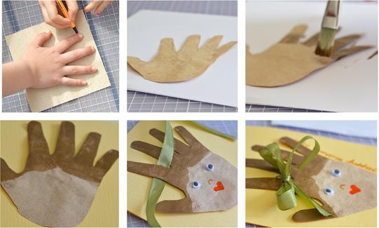 Открытка бабушке на день рождения от внука или внучки. Как сделать своими руками из бумаги. Пошаговая инструкция с фото для начинающих