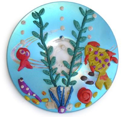 Поделки из дисков своими руками для начинающих для дома, сада и огорода, для детей в детский сад