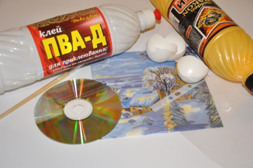 podelki-iz-diskov-3 Какие поделки из дисков можно сделать своими руками? 100 радужных идей