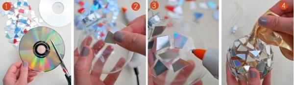 podelki-iz-diskov-6 Какие поделки из дисков можно сделать своими руками? 100 радужных идей