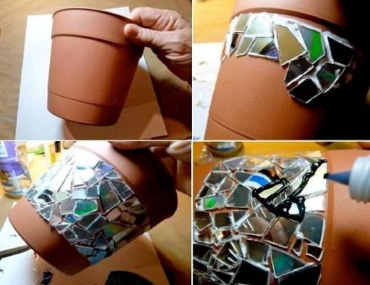 podelki-iz-diskov-7 Какие поделки из дисков можно сделать своими руками? 100 радужных идей