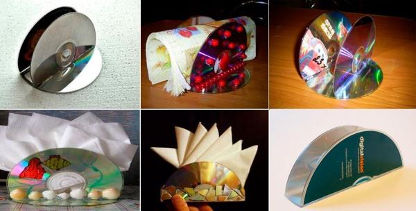 podelki-iz-diskov-8 Какие поделки из дисков можно сделать своими руками? 100 радужных идей