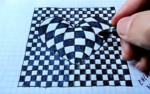 Рисунки по клеточкам в тетради для мальчиков и девочек: сложные, красивые, черно белые и цветные, Майнкрафт, аниме