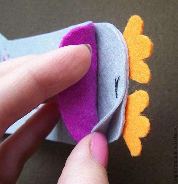Чехол-сова для ножниц: мастер-класс для начинающих, фото, видео