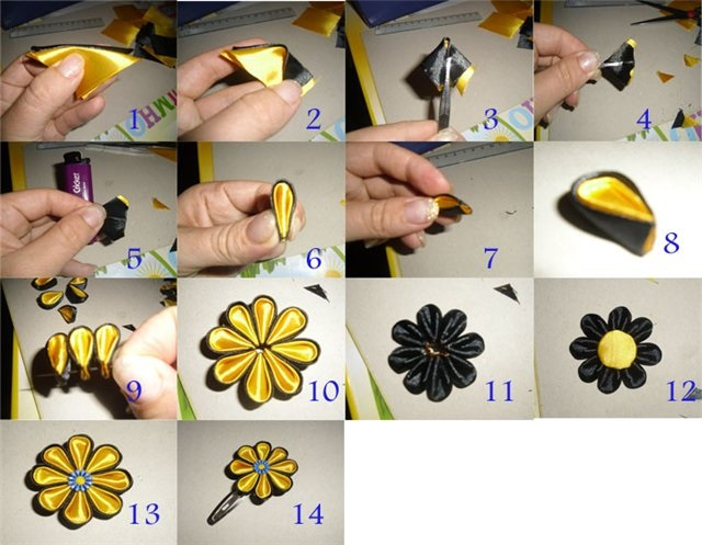 zakolki-dlya-volos-9 Как сделать резинку для волос своими руками? Мастер-классы с фото