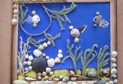 Поделки из морских камней и ракушек. Идеи, инструкции для детей, сада, дома. Пошаговые мастер-классы