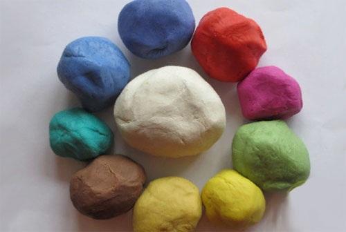 Соленое тесто. Рецепты для лепки с детьми. Цветные поделки с клеем ПВА, крахмалом. Мастер-класс