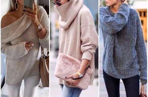 свитера женские вязаные спицами 2019 фото со схемами и описанием