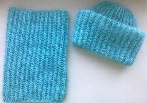 Женские шапки спицами. Как связать бини, с отворотом, объемную, зимнюю, с аранами, поперечной косой. Схемы с описанием моделей