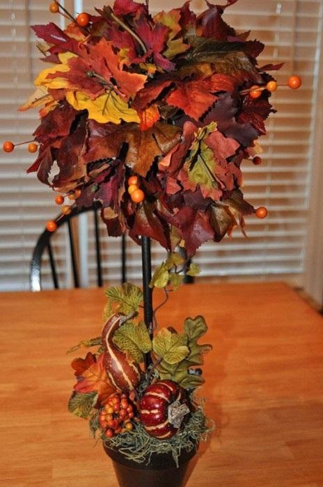 Как сделать розу из листьев клена, дерева поэтапно. Мастер класс для начинающих
