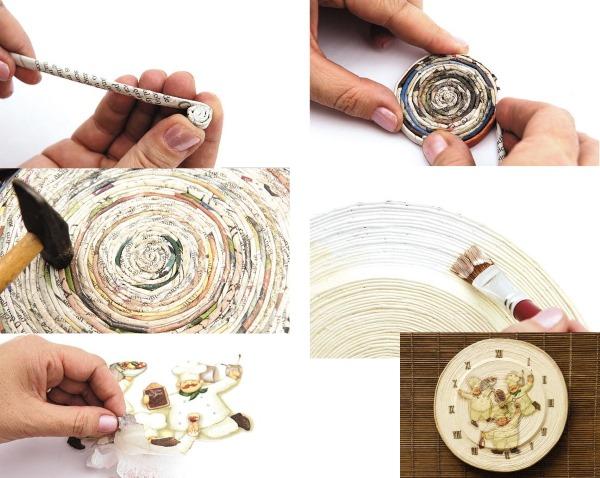 Изделия из газетных трубочек. Мастер-класс, фото, схемы, инструкция для начинающих