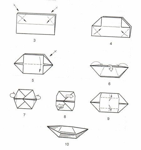 Как сделать корабль из бумаги своими руками. Мастер класс с фото пошагово