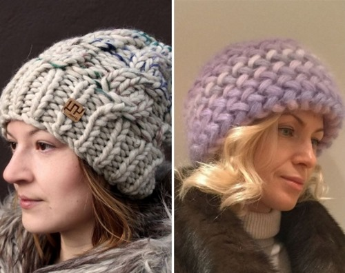 вязаные шапки для женщин 50 лет фото с описанием и схемами как