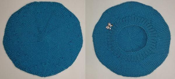 Шапочки спицами для девочек, зимние, осенние варианты. Схемы вязания с описанием и фото
