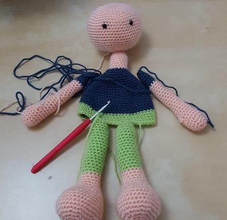Мастер класс вязаные кукол крючком. Схемы, фото, описание: Стеша, Мартина, Тильда, Лили, Тесс