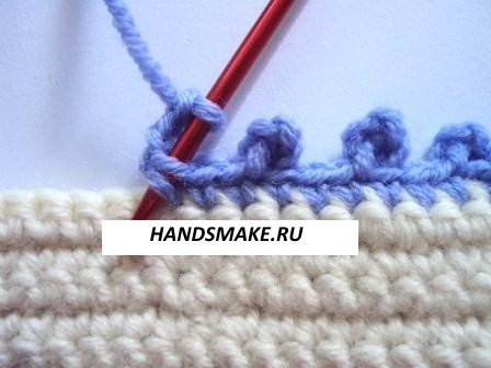 kak-obvyazat-kray-izdeliya-kryuchkom-27 Обвязка края изделия крючком, рекомендуемые узоры, схемы и описание