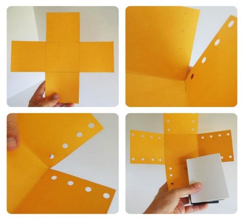 Как сделать коробочку из бумаги, картона, без клея с крышкой, сюрпризом