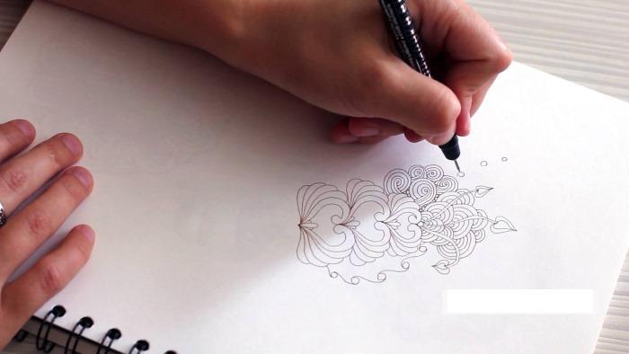Шаблоны цветов для вырезания из бумаги: ромашка, яблони, сакуры, 5-6 листков, объемный