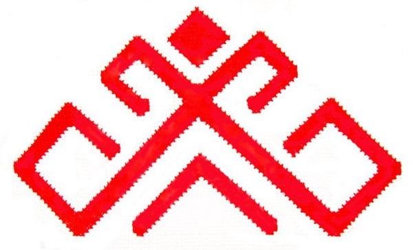 Марийский орнамент и узоры, трафареты по клеточкам, значение, рисунки