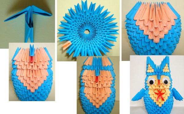 Модульное оригами для начинающих из бумаги. Пошаговая инструкция, схемы: лебедь, ваза, цветы, павлин, дракон, аист