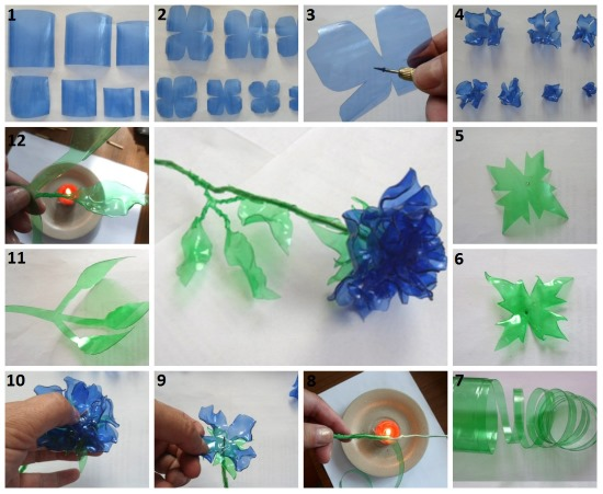 Поделки из пластиковой бутылки для школы, детского сада. Мастер-классы, пошаговые инструкции, фото