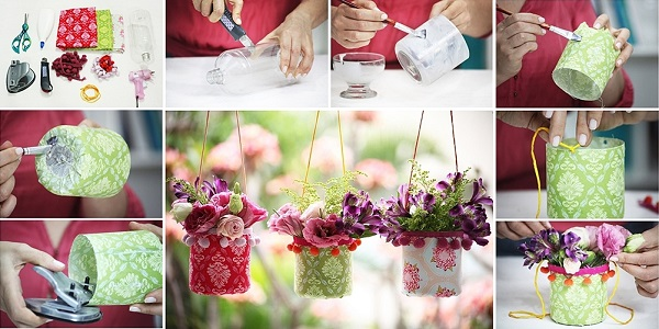 Поделки из пластмассовых бутылок для дачи, сада, огорода, детского сада, школы своими руками. Фото
