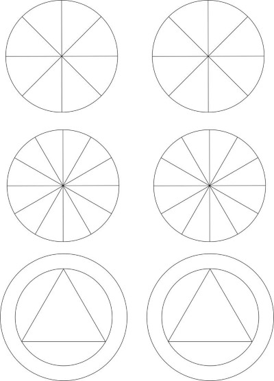 Точечная роспись контурами. Схемы, трафареты для начинающих, геометрические фигуры