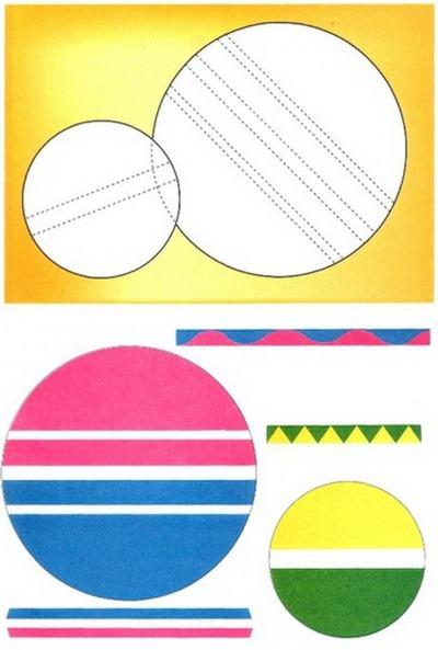 Поделки своими руками для детей из геометрических фигур 1-2-3-4 класс. Шаблоны, аппликации