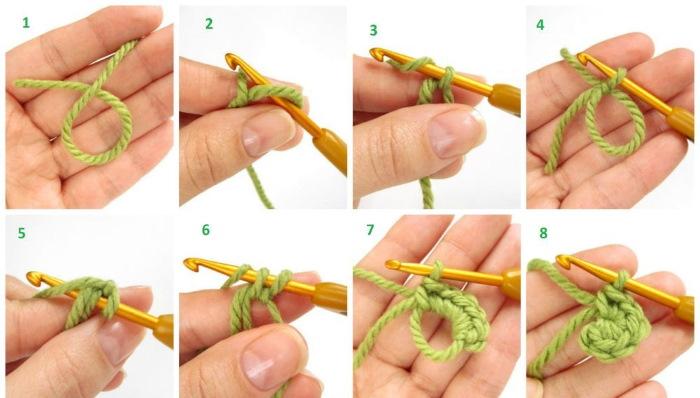 Как научиться вязать крючком с нуля для начинающих поэтапно. Инструкции, фото