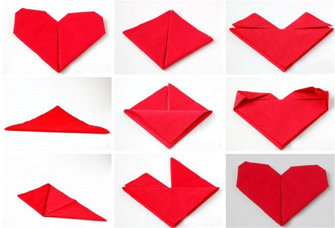 Как сложить бумажные и тканевые салфетки для сервировки стола. Поэтапно для начинающих