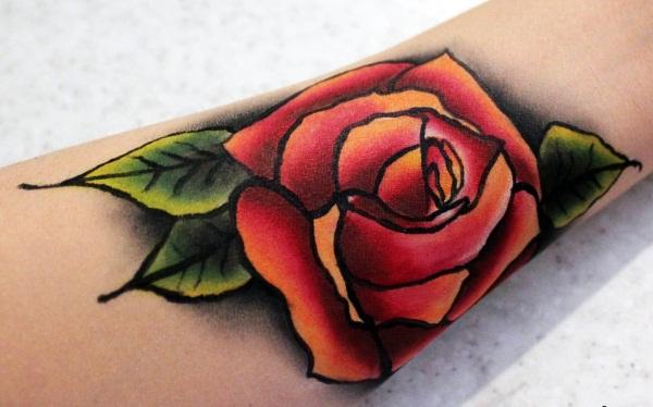 Временное тату на 1 год, на 3 месяца, на месяц, на несколько дней. Как сделать временную татуировку в домашних условиях?