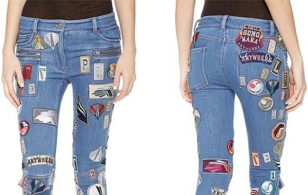 Как зашить дырку на джинсах вручную, без заплатки, машинки на колене, попе