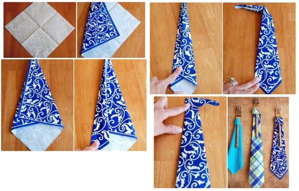 Как красиво сложить бумажные салфетки на праздничный стол. Схемы, инструкции, фото