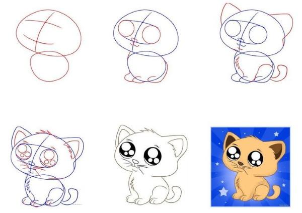 Красивые рисунки карандашом для срисовки поэтапно для начинающих