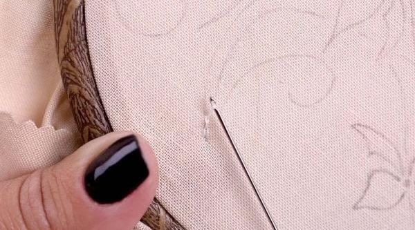 Люневильская вышивка для начинающих. Фото, схемы, техника, материалы и инструменты
