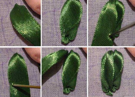 Вышивка лентами для начинающих пошагово. Уроки, схемы, фото и описание